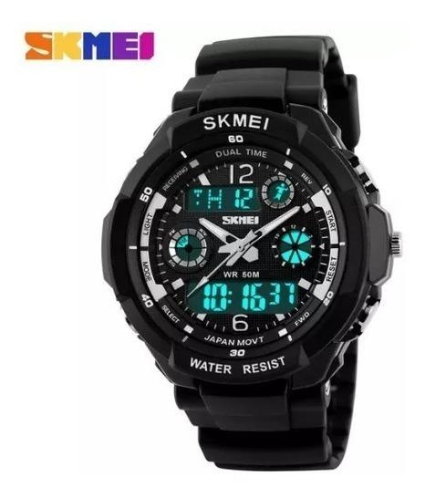 Relógio Skmei S-shock Analógico Digital Prova D