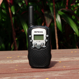Walkie Talkie Radio Comunicador T338 Black Retevis