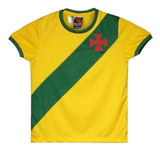Camisa Brasil Vasco Da Gama Infantil
