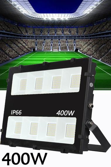 Refletor De Led 400w Potência Lançamento Novo Modelo Alta Qualidade Branco Frio 6000k Bivolt Ip66 A Prova D