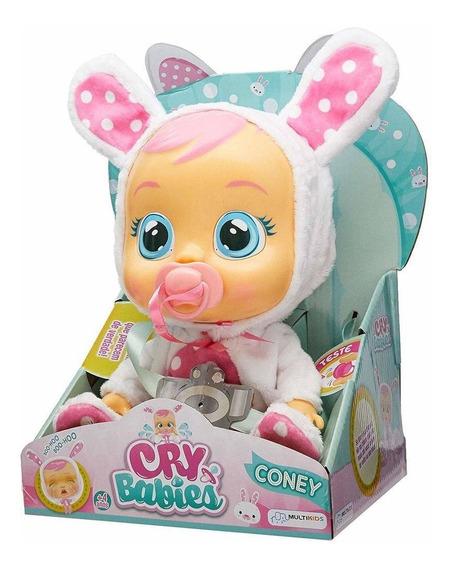 Cry Babies - Boneca Interativa Coney - Multilaser Br528