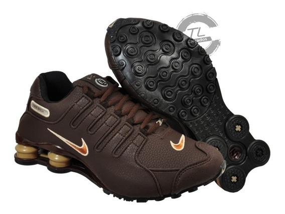 Tênis Masculino Nike Sxhox Nz Eu Couro Amortecedor Imediato
