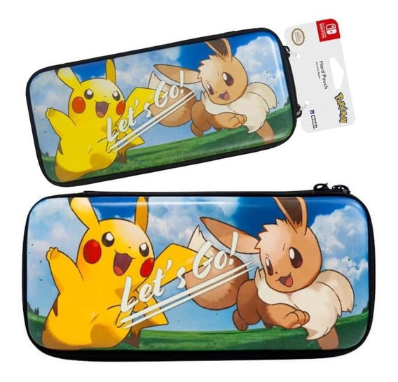 Case Hard Pouch Pokemon Lets Go Switch Hori Oficial Nintendo
