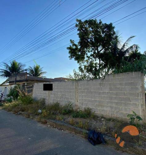 Terreno À Venda, 360 M²  Portal De Guarapari - Guarapari/es - Te0143