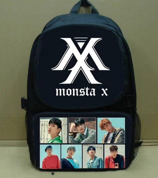 Mochila Monsta X K- Pop
