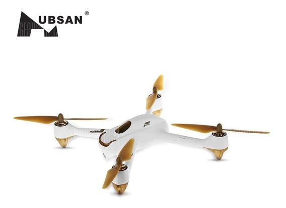 Hubsan H501s X4 Drone Brushless - Branco + Plugue Dourado