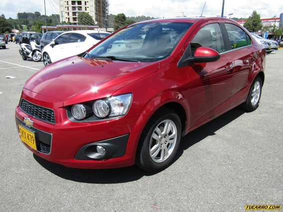 Chevrolet Sonic Lt At 1600cc Aa Ct