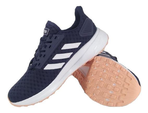 Zapatillas adidas Duramo 9 Azul Running Mujer Full Eezap