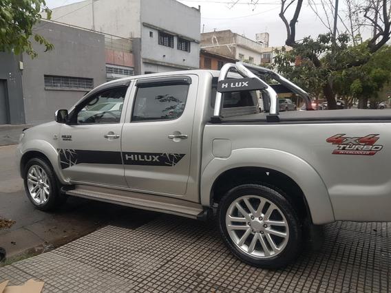 Toyota Hilux 3.0 I Srv Cab Doble At 4x4 Cuero Año 2009