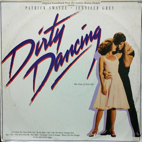 Imagem 1 de 3 de Lp Vinil (nm) Trilha Dirty Dancing Original Soundtrack Promo
