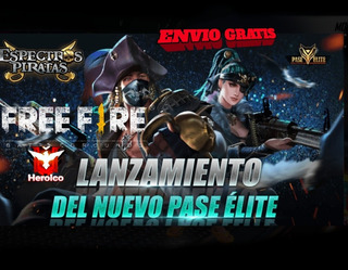 Free Fire El Nuevo Pase Elite Free Fire