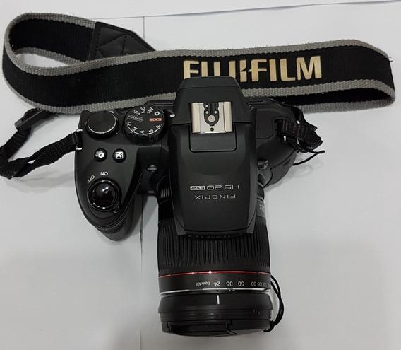 Câmera Semi Profissional Fuji Hs20exr 16mp Zoom 30x Perfeito