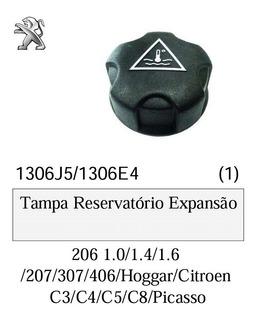Tampa Reservatorio Expansão Agua Radiador 206 207 307 406
