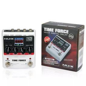 Pedal Time Force Delay Loop Nux Novo Pronta Entrega