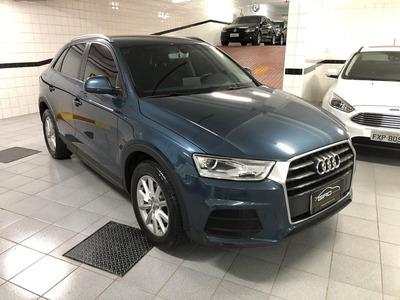 Audi Q3 1.4 Attraction 2016 Baixo Km Nova Azul