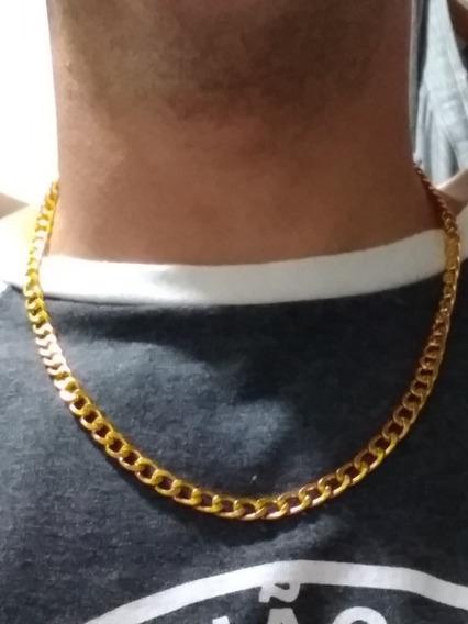 Cordão Banhado A Ouro 18k