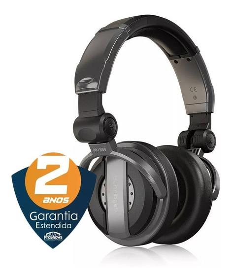 Fone Headphones Alta Qualidade Dj Profissional Bdj 1000