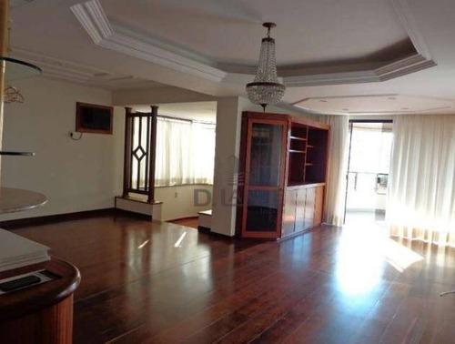 Imagem 1 de 17 de Apartamento Com 3 Dormitórios À Venda, 188 M² Por R$ 950.000,00 - Vila Coqueiro - Valinhos/sp - Ap17863