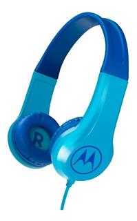 Auriculares Motorola Niños Cable Microfono Celular +stickers