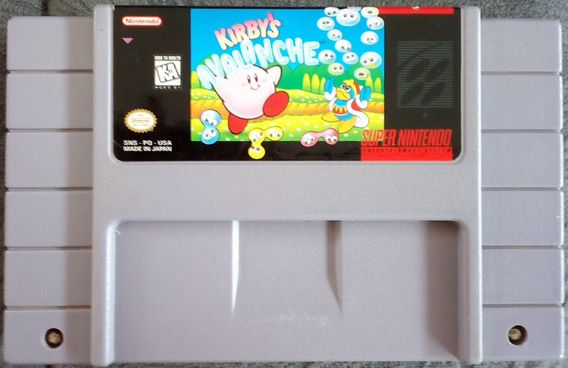 Cartucho Super Nintendo Snes Kirby