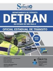 Apostila Detran-sp 2019 Oficial Estadual De Trânsito Solução