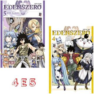 Edens Zero 4 E 5! Manga Jbc! Novo E Lacrado!