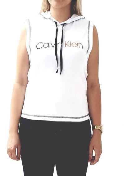 Blusa Regata Calvin Klein Underwear Com Capuz Rico33
