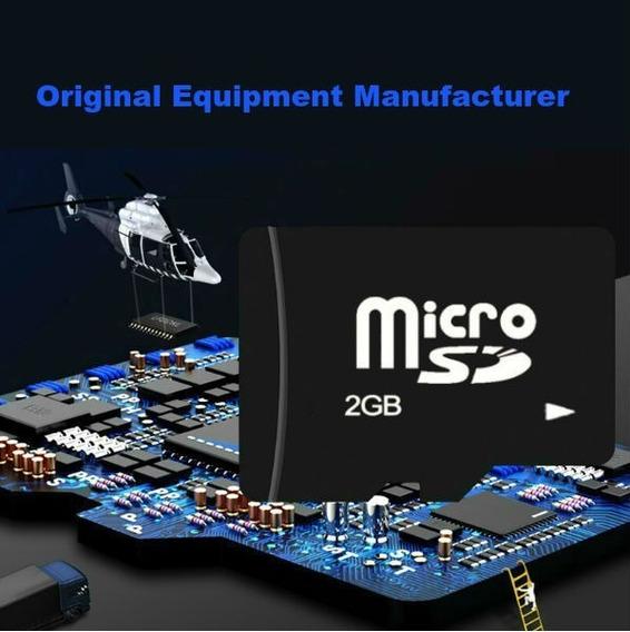 Kit 2 Unidades / Cartão De Memória Micro Sd 2gb Tf / 002 B