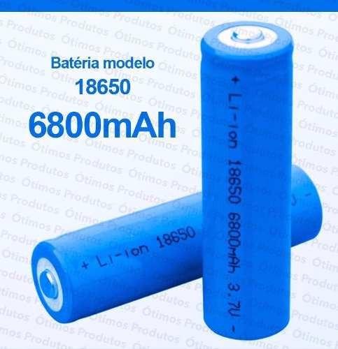 Kit 20 Bateria Recarregável 5800mah Lítio Nk18650 3.7v