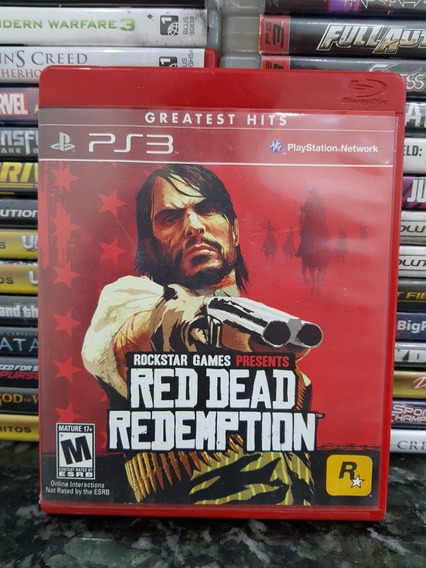 Red Dead Redemption *ps3 Original*