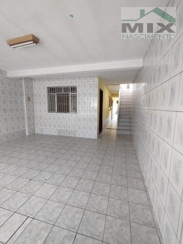 Imagem 1 de 15 de Casa Sobrado Em Taboão - Diadema, Sp - 3718