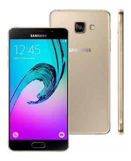 Samsung Galaxy A5 A510m 16gb 13mp Vitrine Dourado