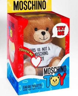 Perfume Moschino Toy X50ml Original En Estuche Oso Coleccion