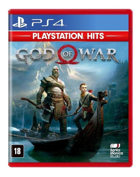 God Of War Ps4 Mídia Física Novo Lacrado