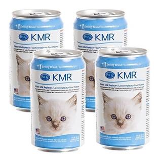 (4-pack) Kmr Liquid Sustituto De Leche Para Gatitos Y Gatos,
