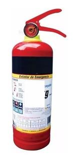 Extintor Recargable Pqs Tipo Abc 1kg Alvamex Extinguidor