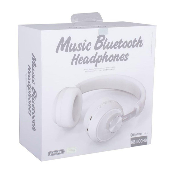 Headphone Bluetooth Rb-500hb Branco - Remax