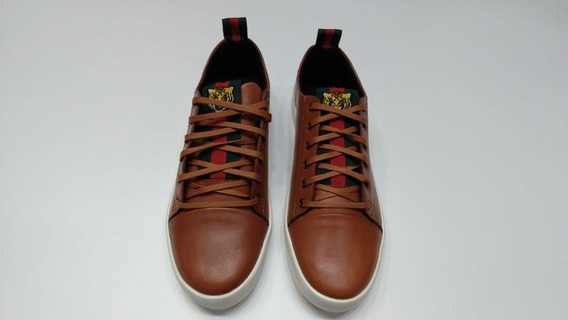Sapato Gucci Tigger De Couro Frete Gratis!