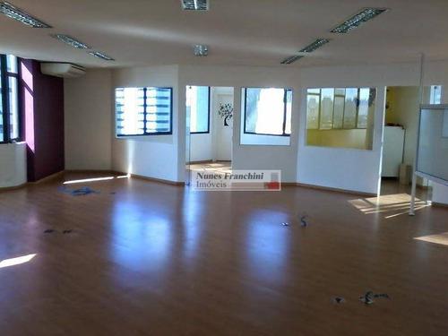 Brooklin-zs/sp - 139m² Sala Comercial Ampla, Flexível Para Vários Ambientes - Cj0013