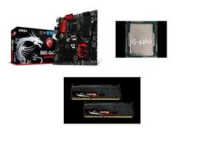 Kit Pc Gamer I5 4460 + Placa Mãe Msi + 8gb (2x4gb) 2400mhz