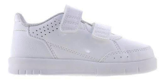 Tenis adidas Altasport Cf Kids Blanco Escolar Velcro -regalo
