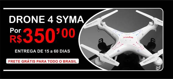 Drone Syma X5c Original 2.4g 4ch 6
