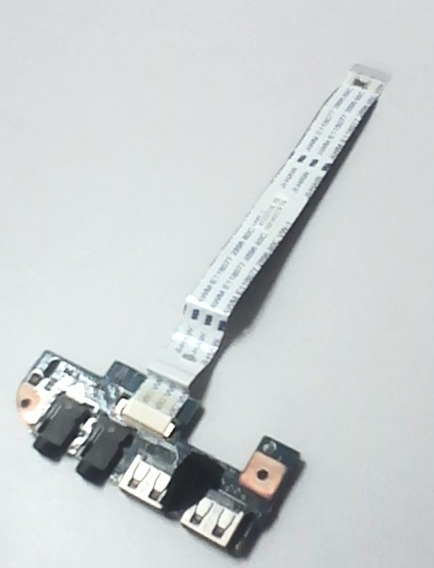 Placa Usb + Conector Som Notebook Acer 4551 Emachines D440