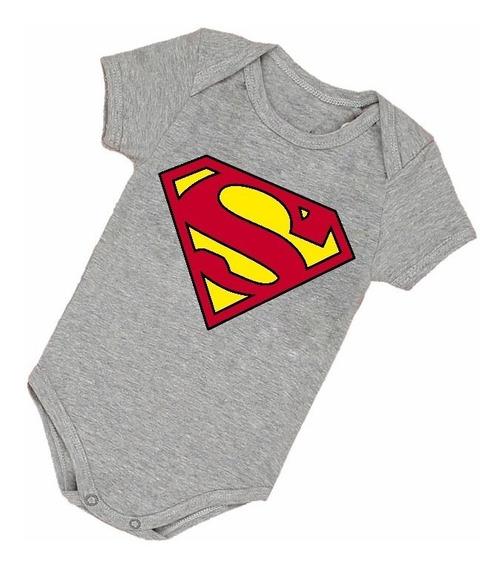 Body Infantil Bebê Superman Herói Engraçado Bore B002cz