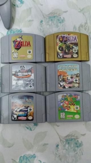Lote Jogos De Nintendo 64 Frete Gratis!