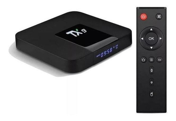 Smart Tv Box Tx9 +brinde App De Tv Sem Mensalidade Muito Top