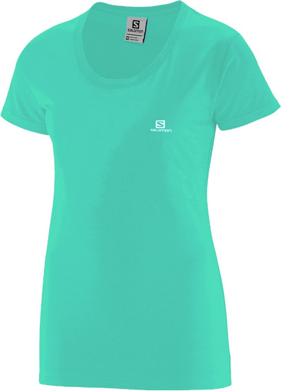 Remera Mujer - Salomon - Cotton Ss Tee - Casual