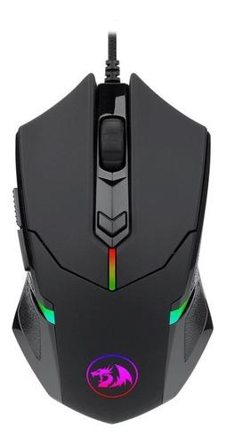 Imagen 1 de 6 de Mouse de juego Redragon  Centrophorus2 M601-RGB black