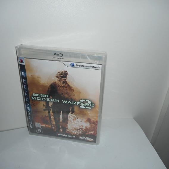 Call Of Duty Modern Warfare 2 Ps3 Mídia Física Novo Lacrado