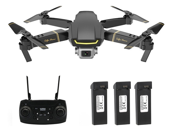 Dron Con Cámara Global Gw89 1080p Wifi Fpv Control Remoto